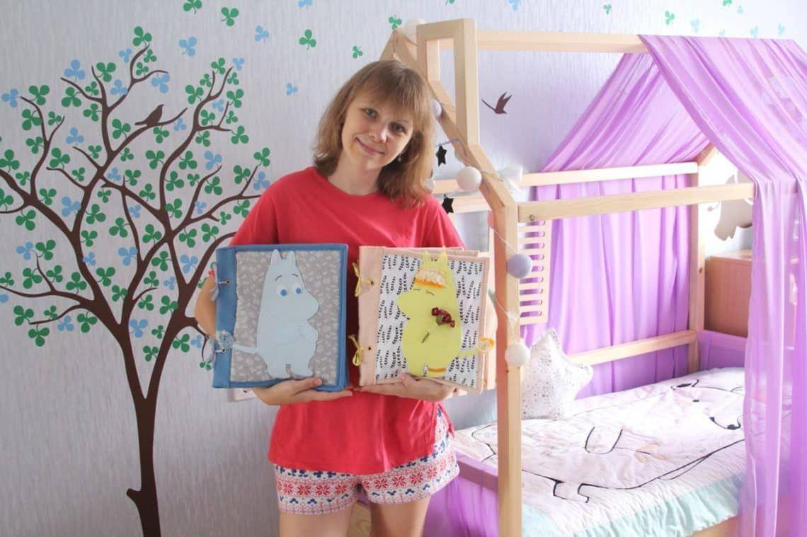 Примеры детские развивающие книги ручной работыи